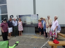 Auckland unveiling of commemorative board
