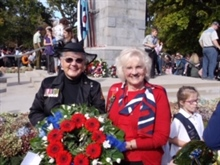 Waikato Founders lay ANZAC wreath