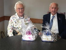 Hawke's Bay branch celebrates two members reaching 100 years.